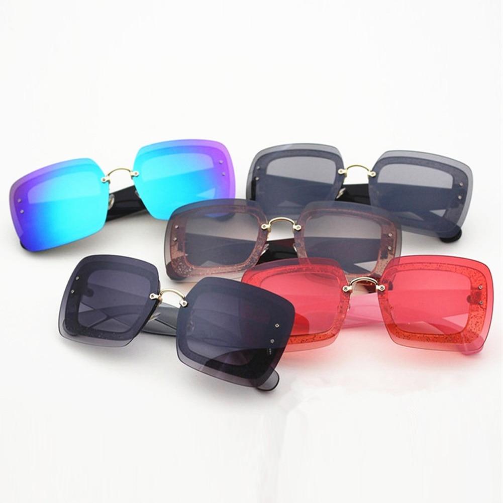 Futuristic Large Retro-Nerd Square Frame Sunglasses Mens Womens Oversized Translucent Lens Shades Oculos De Sol 2018