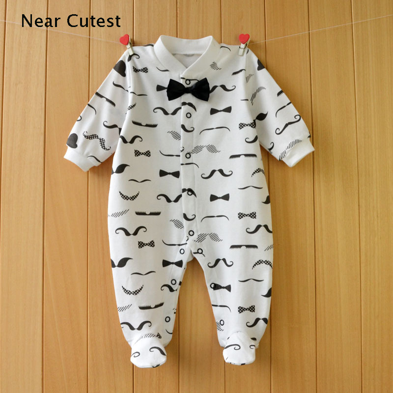 2017 Spring Autumn Baby Rompers Cotton Long Sleeve Clothes bebes Baby Boy Girl Clothes Underwear Infant Boys Girls jumpsuit 2017 lovely newborn baby rompers infant bebes boys girls short sleeve printed baby clothes hooded jumpsuit costume outfit 0 18m