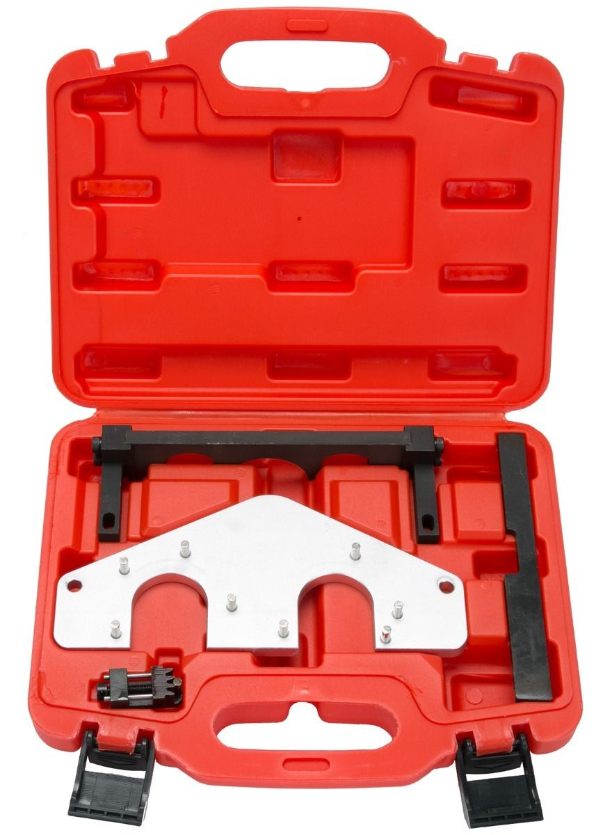 Automotive engine timing camshaft adjust setting tool kit for Mercedes benz tools