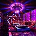 Lâmpada de Controle de voz Bola de Cristal Mágica Levou Luzes Do Partido Luz de Discoteca DJ Natal Projetor Laser de Controle de Som