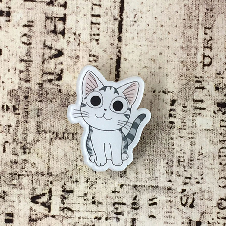 Tq 1pcs Mix Cat Cartoon Icons On The Pin Kawaii Icon Badge Bacges On Backpack Badges For Clothing Acrylic Badges No9 Arts,crafts & Sewing Badges