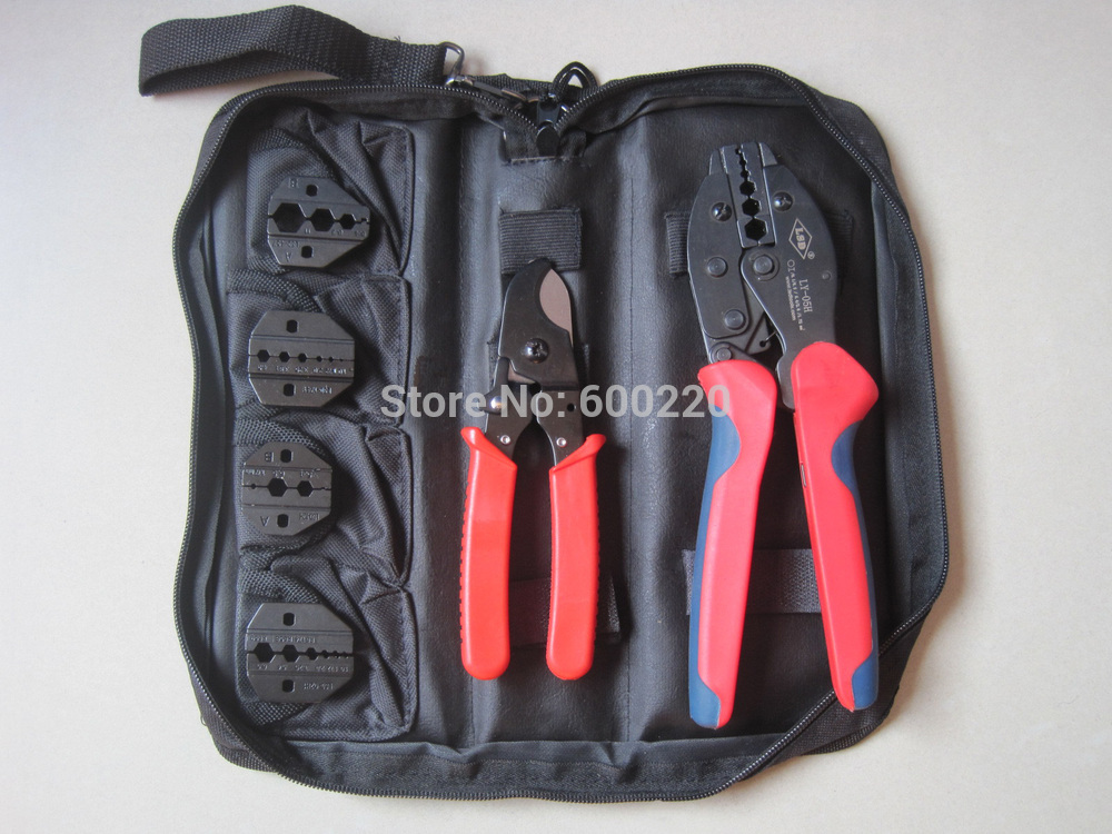 LSD Coaxial crimping too kit/set BNC connector box Oxford package LY-K05H hand tools set ...