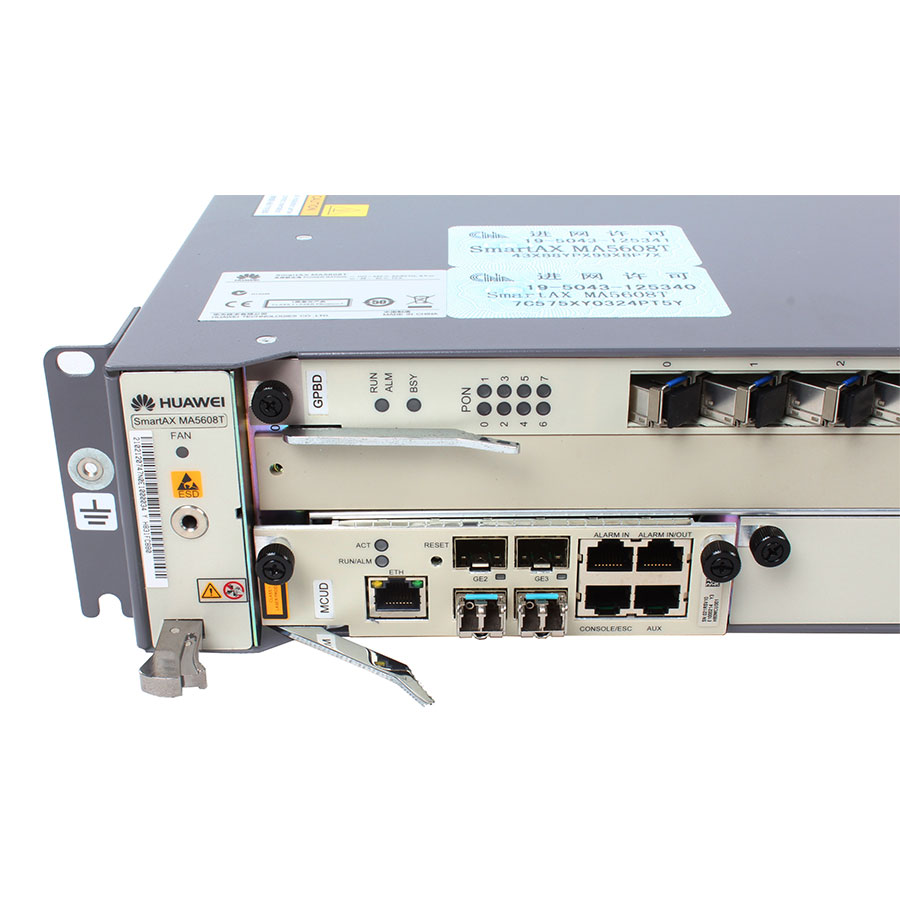 Fiber Optic Equipments 2019 New Style Hua Wei Mcud 4 Ge Uplink Optical Interface Small Size Control Unit Board Main Control Board For Hua Wei Ma5608t Communication Equipments
