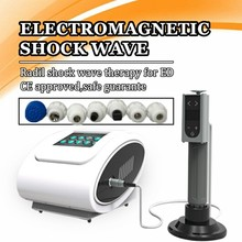 лучшая цена Portable Medical Shock wave Therapy Machine Electromagnetic Shock Wave Pulse Physical Therapy Equipment for ED treatment