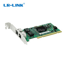 LR-LINK PCI Gigabit Dual Port Network Adapter (Intel 82546 Based) Comptaible for 8492MT adapter for lp1150 4gb pci x single port
