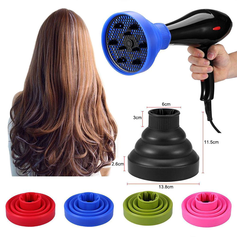 Hot Convenient Useful Universal Foldable Curly Wavy Hair Diffuser For Blow Dryer Portable Travel Salon HY99 AU31
