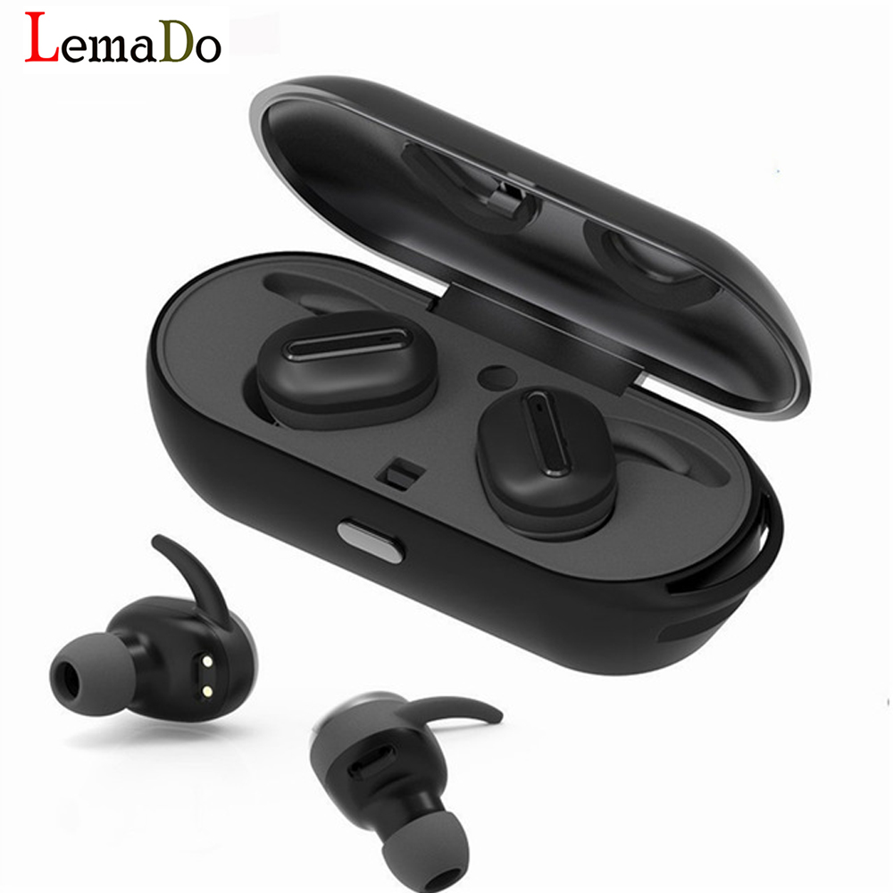 Wireless Bluetooth Headset Twins True Mini Earphone Stereo Earbuds In-ear headphones with Power Bank For Mobile Phone car charger bluetooth wireless headphones in ear earphone headset mini stereo headphone white color