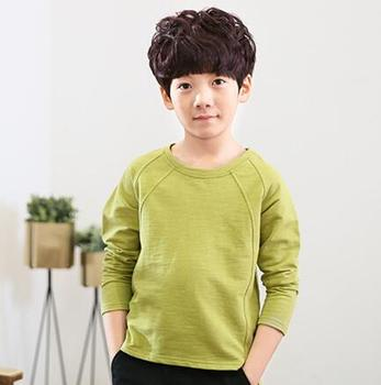 Boys Clothing School Children Spring Autumn T-shirt Casual Sports Tees Long Sleeve Kids Teenager Boys O-neck Cotton T-shirt