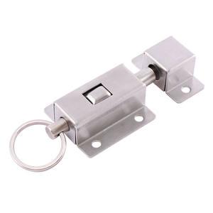 6in serratura in acciaio inossidabile 304 Serratura a scorrimento scrocco per chiavistello Installazione facile per la sicurezza domestica Serratura a scatto scorrevole di sicurezza della porta