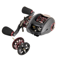 Haibo SMART50HMCS 51HMCS 13BB 188g 7.2:1 Full Metal Bait Casting Lure Reels Left/Right Hand Double Spools
