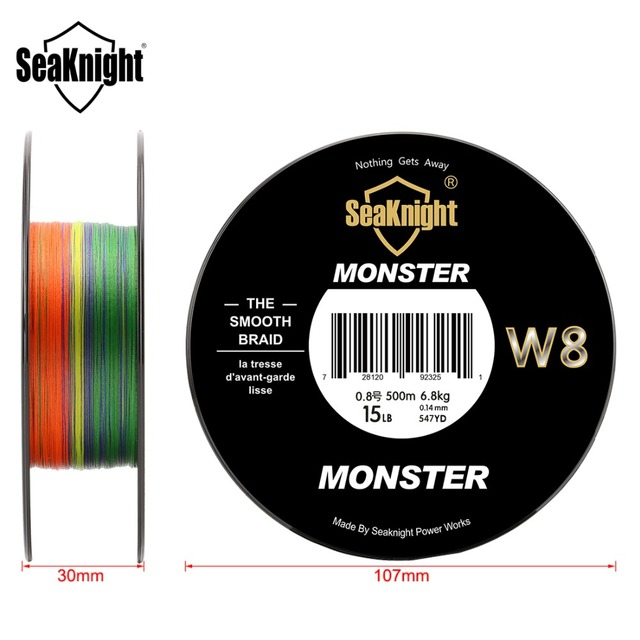 SeaKnight Monster W8 8 Strands 500M