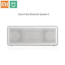 Xiaomi Mi Altoparlante del Bluetooth di Base 2 Scatola Quadrata 2 Stereo Portatile Bluetooth 4.2 bianco Ad Alta Definizione Audio HD di Gioco di Qualità