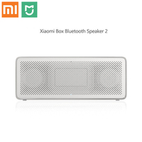 Xiaomi Mi Bluetooth Speaker Basic 2 Square Box 2 Stereo Portable Bluetooth 4.2 white High Definition HD Sound Quality Play