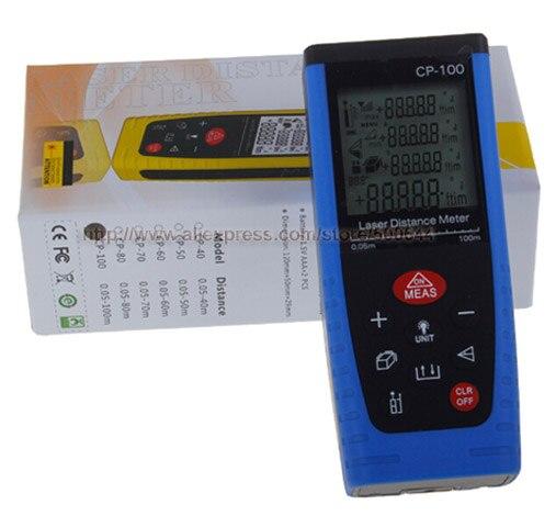100M Handheld Digital Laser Distance Meter Range Finder Measure Diastimeter & 10PCS/Lot DHL/UPS/FEDEX/EMS Free Shipping dhl ems 1pc new in box keyence long distance laser sensor head lv h62