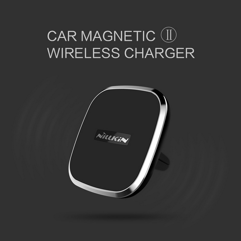NILLKIN Car magnetic wireless usb charger For IPhone 7 7plus 6 6s plus Samsung Galaxy S6