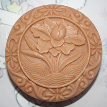Flower Pattern silicone soap Mold Food Grade Silicone Cake Baking Molds Handmade Soap mould