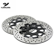 CNC Motorcycle Front Floating Brake Disc Rotor For SUZUKI GSXR1000 2000 2001 2002 2003 GSXR 1300 HAYABUSA1300 1999-2007 yowling motorcycle parts accessories front floating brake discs rotor for honda hornet 250 cb250 1996 2001 vtr250 1998 2007