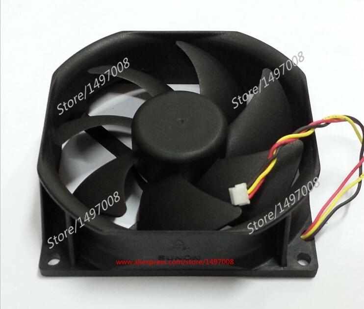 SUNON PSD1285PTB1-A (2).B3452.R.GN DC 12V 3.7W 85x85X25mm Server Square fan free shipping for sunon mf75251v1 q000 g99 dc 12v 2 7w 3 wire 3 pin connector 90mm server square cooling fan