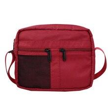 цены Men Messenger Shoulder Bag Small Male Crossbody Bags for Women Boy Girl Ladies Black Red Designer Fashion Purses and Handbags