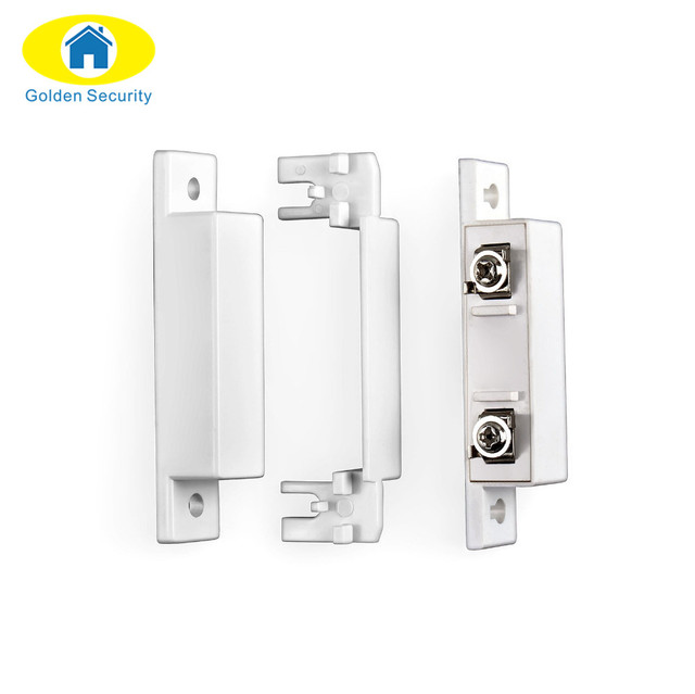 Golden Security 10 pair/lots Wired Door Window Sensor Magnetic Switch Home Alarm System Detector door open remider