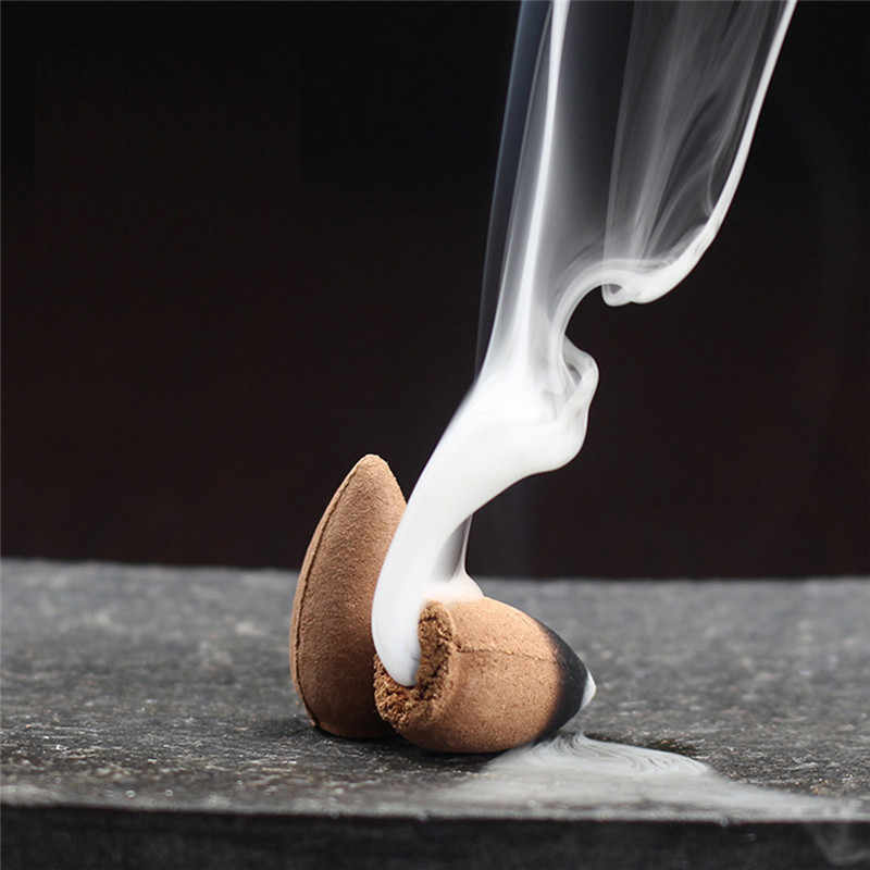 10 قطعة رصاصة البخور الخزف ارتداد البخور البوذية الخزف ارتداد الصقيل البخور الروائح جديد
