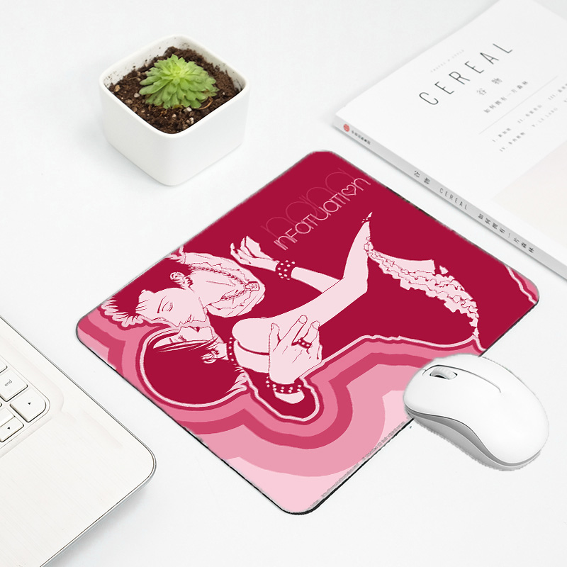 Mairuige Cool Hadsome Anime Girls Oosaki Nana and Honjo Ren Mousepad Mini Gaming Pc Gamer Player Mousemat Notebook Tablet Mats