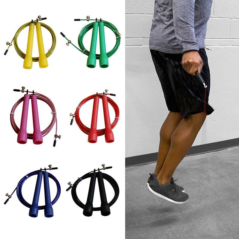 yüksek hız çeliği atlama ip atlama atlama fitness ekipmanları spor kilo eğitim boks spor egzersizleri ayarlanabilir halatlar