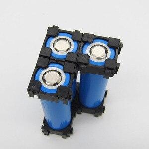 Image 3 - 20 stücke 18650 Lithium Batterie Kombination Halter Schnalle Batterie Pack Halter Zylindrischen Li ionen zelle Leuchte Halterung Teil 1 P 18,5 MM