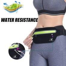 Double fish running bag waterproof Lycra fabric running waist bag for 5.5  6.5 inch phones Running Case cell phones