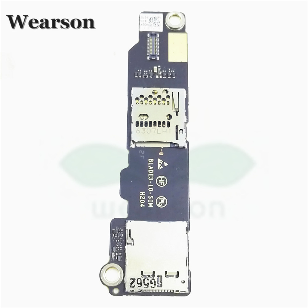 For Lenovo Blade3-10 YT3-X90 Sim Card Slot Memory Card Board 100% Original New Free Shipping With Tracking Number (3)