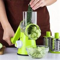 multifunctional kitchen manual carrot grater vegetable shredder slicer hand handy drum spiral peeler grater chopper