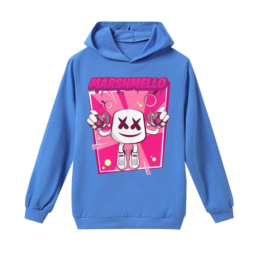 Roblox Kids Baby Boys Girls T Shirt Marshmello Dj Music Long