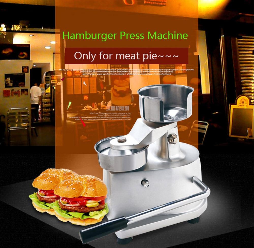 Hot Sale Hamburger Burger Meat Press Machine Aluminum Alloy Hamburger Patty Maker 100mm 130mm Diameter in Food Processors from Home Appliances