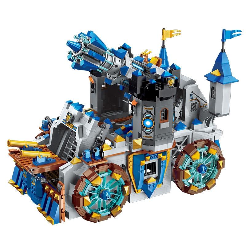 Oyuncaklar ve Hobi Ürünleri'ten Bloklar'de 1541 adet Zafer Savaş Serisi çocuk yapı taşları oyuncak Uyumlu Legoingly şehir Yenilmez Savaş Kale Tuğla'da  Grup 3