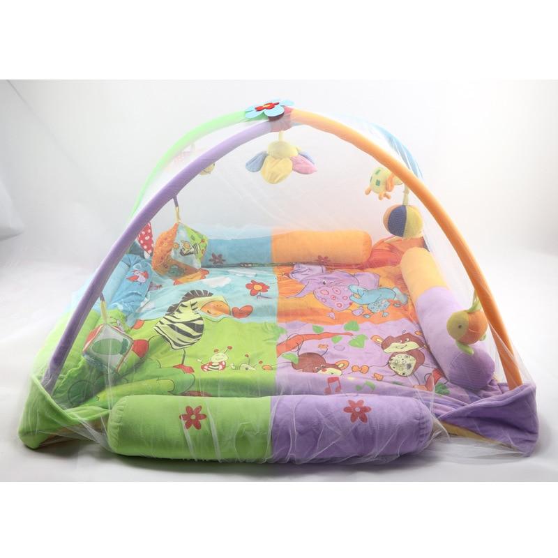 Baby Gym საქმიანობა Playmat Mosquito Net Newborn - ბავშვთა საქმიანობა და აქსესუარები - ფოტო 5