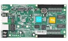 Interfaz de datos asincrónica HUB75 HD-C10 RGB a todo color tarjeta de control de exhibición de led, 112×1024 píxeles, tamaño Pequeño tarjeta de control de pantalla