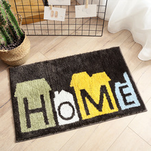 HOME Print Floor Mat Bath Rug Kitchen Rug Door Feet Mat alfombra cocina Anti-slip Doormat Floor Rug Kitchen Carpet Bath Mat Set