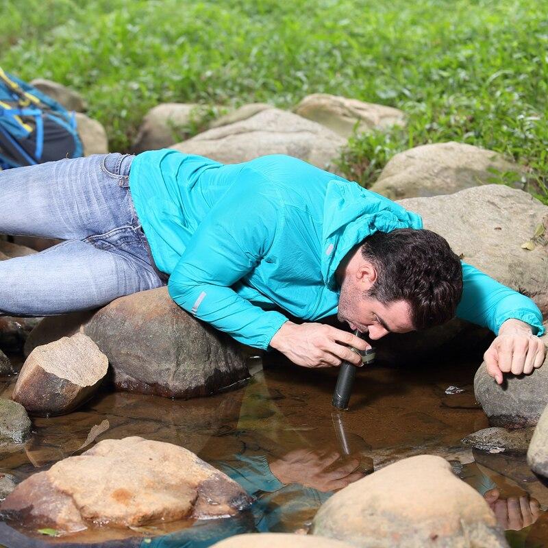 Purification de l'eau en plein air