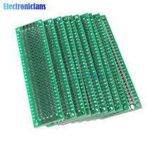 Platine d'extension PCB Double face universelle, 2x8 cm, 20x80mm, FR4, 1 pièce