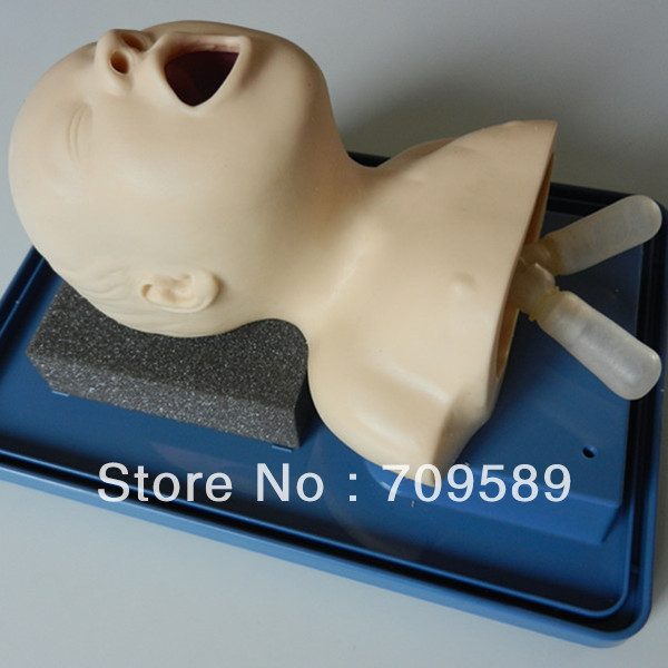ISO Advanced Neonatal Intubation trainer, Tracheal Intubation Manikin iso economic newborn baby intubation training model intubation trainer