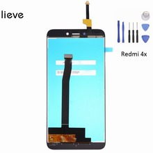 5'' for Xiaomi Redmi 4X Display LCD Touch screen Assembly replacement + tools and free shipping free shipping b156hw01 v 5 b156hw02 lp156wf1 tlb2 ltn156ht01 ltn156ht02 15 6led 1920x1080 40pin lcd display laptop screen