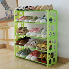 Stainless steel creative bubble waiting multilayer type simple plastic shoe rack dustproof housing assembly dormitory