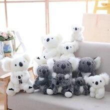 Kawaii Koala 13cm Plush Toys For Children Australian Koala Bear Plush Stuffed Soft Doll Kids Lovely Gift For Girl Kids Baby цена в Москве и Питере