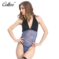 COLLEER NEW Luxury Deep V Lingerie New Brand Sexy Multi Color Push Up Bra Set Floral