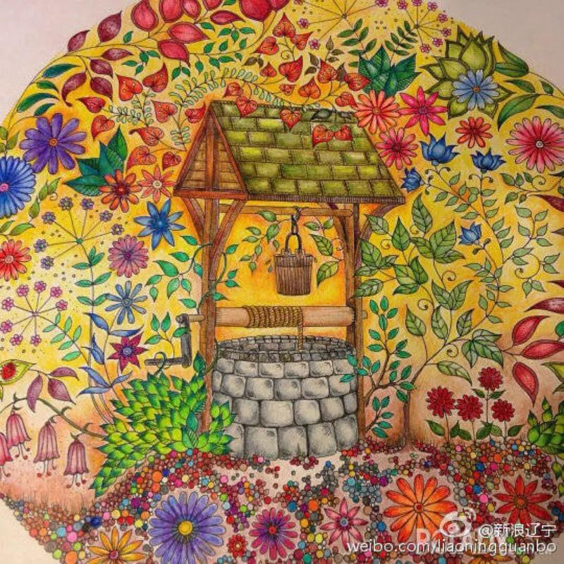 Online Shop Free Shipping Secret Garden Coloring Books High Quality Original English Adult Relieve Stress Art Graffiti Painting Drawing Book
