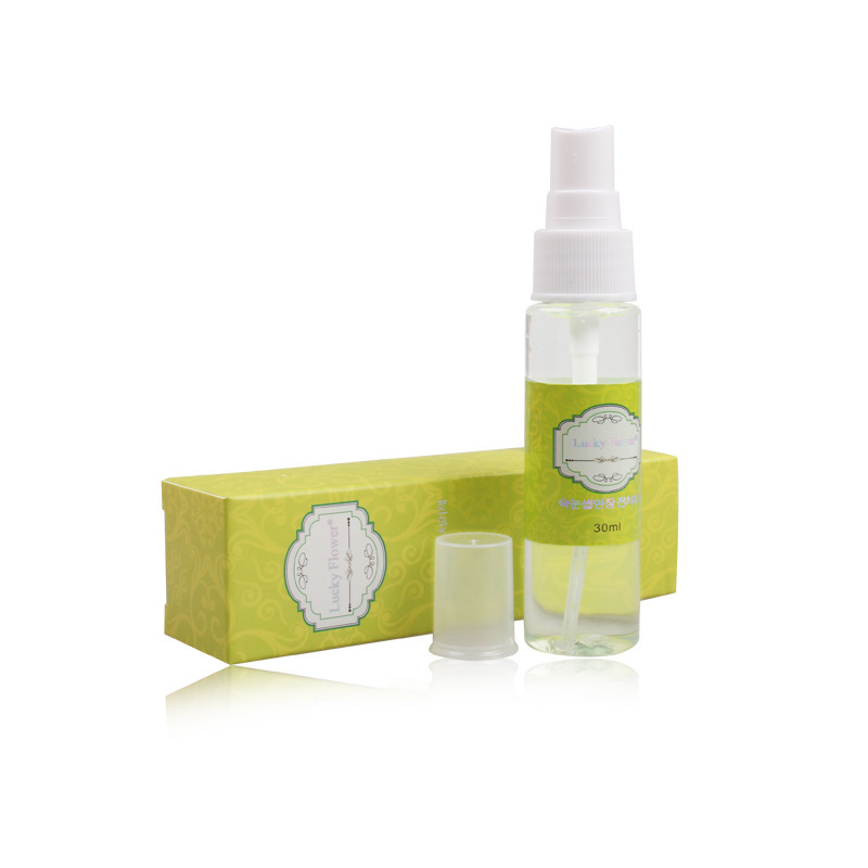 30ml Green Tea Smell Eyelash Cleanser Makeup Tools Eyelash Extension Clean Liquid For Lashes