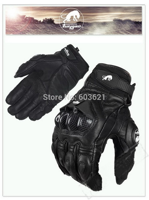 d2355b15aa463 hot sales France top car Furygan AFS 6 motorcycle gloves motorbike glove  made of leather and carbon fiber