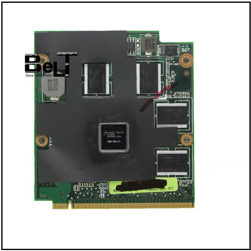 オリジナル 9650 9600M GT 9650MGT G96 650 C1 1024 メガバイト MXM II vga asus X83V N80V M50V M70V X57V F8V A8S f8S N80V ラップトップ  グループ上の 家電製品 からの MP4プレーヤー の中 1
