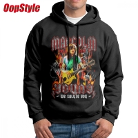 Malcolm Young AC DC ACDC Men Hoodie Long Sleeve Dropshipping Autumn European Size
