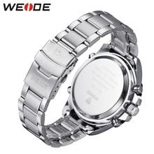 WEIDE Army Sport Watch Men Steel watch